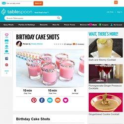 Birthday Cake Shots recipe