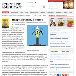 Happy Birthday, Electron