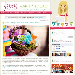 Karas Party Ideas