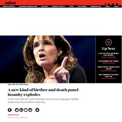 New death panel insanity explodes .... 8/13/13
