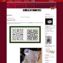 biscornus - Biscornu N° 168 - Biscornu N° 167 - Biscornu N° 166 - Biscornu N° 165 - Le blog de Louison