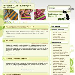 Cie – Le Blogue