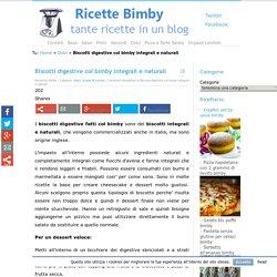 Biscotti digestive col bimby integrali e naturali