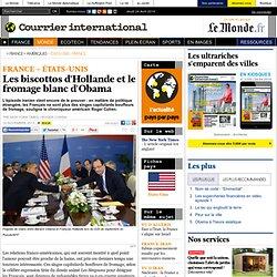 Les biscottos d'Hollande et le fromage blanc d'Obama