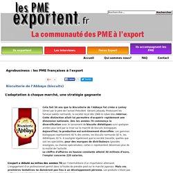 Biscuiterie de l'Abbaye (biscuits) - les PME exportent