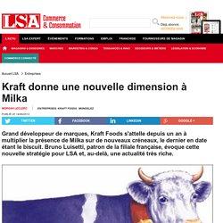 Kraft donne une nouvelle dimension à Milka - Biscuiterie, Confiserie, Petit Déjeuner