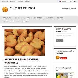 Biscuits au beurre de Venise (Buranelli)