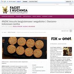 ANZAC biscuits bezglutenowe i wegańskie