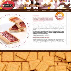 Biscuits Bouvard - Innovation