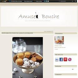 Petits biscuits pour vos cadeaux gourmands