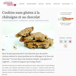 Recette de biscuits sans gluten à la châtaigne et au chocolat