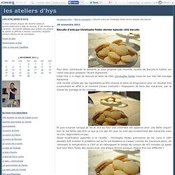 Biscuits d'anis par Christophe Felder dernier épisode côté biscuits