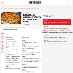 Biscuits à la citrouille, pépites de chocolat et avoine