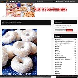 Biscuits Couronnes aux Miel -