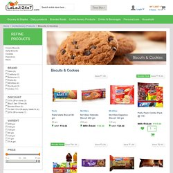 Confectionery Biscuits and cookies Online Supermarket