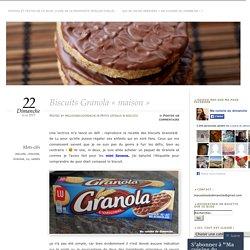 Biscuits Granola «maison
