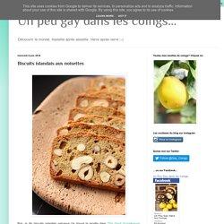 Un peu gay dans les coings...: Biscuits islandais aux noisettes