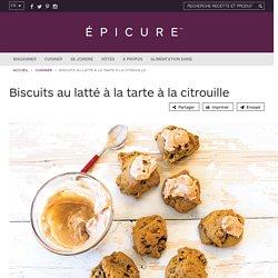 Biscuits au latté à la tarte à la citrouille
