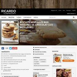Biscuits moelleux aux brisures de chocolat (les meilleurs) Recettes
