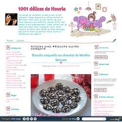 Biscuits sucrés - 1001 délices de Houria