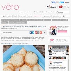 Les biscuits favoris de Marie-Soleil Michon