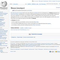 Biseau (musique)