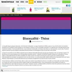 Bisexualité - Thèse - Liste de 22 livres - SensCritique