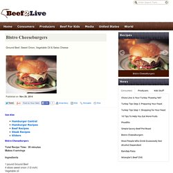 Bistro Cheeseburgers