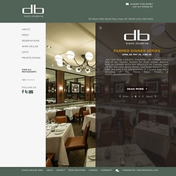 DB Bistro Moderne