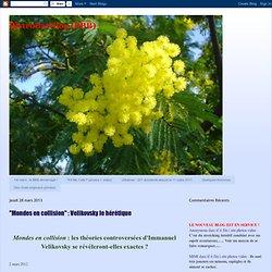 """""""Mondes en collision"""" : Velikovsky le hérétique"""