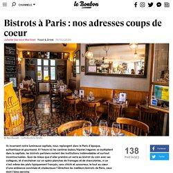 Bistrots à Paris: nos adresses coups de coeur