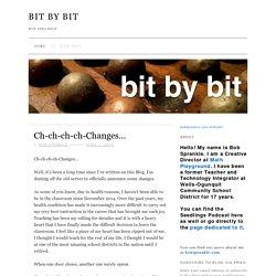 bob sprankle — bit by bit
