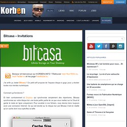 Bitcasa – Invitations