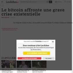 Le bitcoin menacé dans son existence, selon Les Echos