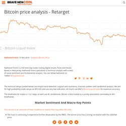 Bitcoin price analysis - Retarget