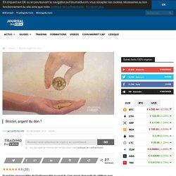 Bitcoin, argent du don