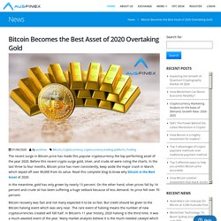 Bitcoin Becomes the Best Asset of 2020 Overtaking Gold