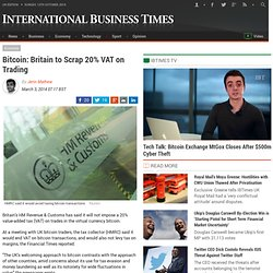 Bitcoin: Britain to Scrap 20% VAT on Trading