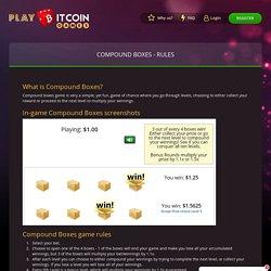 Compound Box Game Online