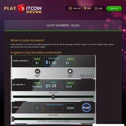 Lucky Number Casino Game Online