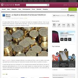 Bitcoin : un député se demande s'il ne faut pas l'interdire en France