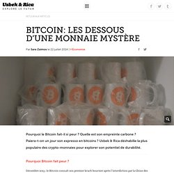 Bitcoin: Les dessous d'une monnaie mystère
