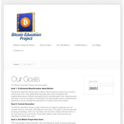 The Bitcoin Education Project