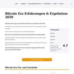 Bitcoin Era App Erfahrungen: SERIÖS oder BETRUG? Der Test