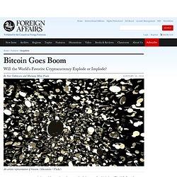 Bitcoin Goes Boom