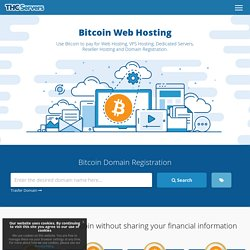 Bitcoin Hosting - Web Hosting Pay with Bitcoin