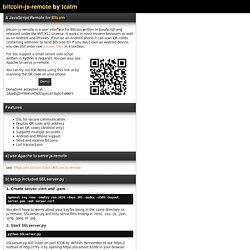 bitcoin-js-remote