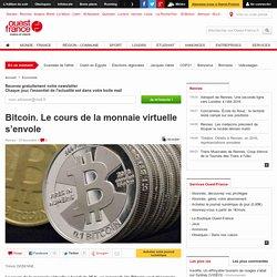 Bitcoin. Le cours de la monnaie virtuelle s'envole