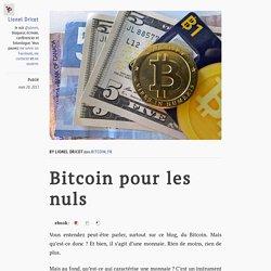 Bitcoin pour les nuls