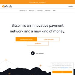 Bitcoin - P2P digital currency